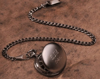 Husband Gift Boyfriend Gift Mens Gift for men Brother Gift Personalized Pocket Watch Father Gift Boss Gift for dad (FC775)