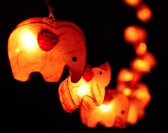 elephant string lights Etsy