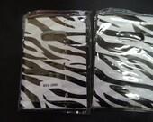 50 3x5 inch Bargain Bin 50% off   Mini Zebra Plastic Party Favor bags, Animal Print Plastic small merchandise bags, Petite  plastic bags