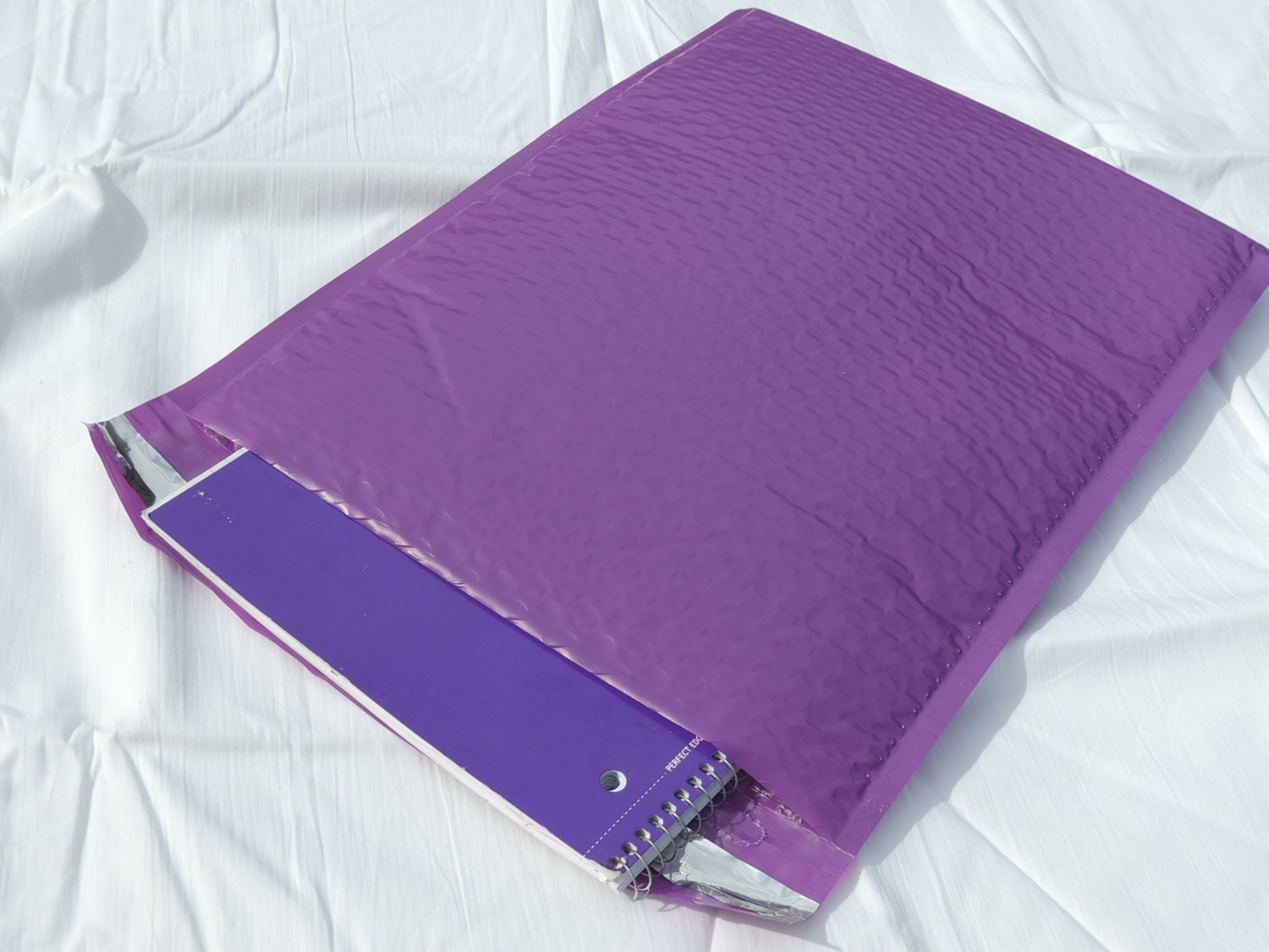 30 Bright Purple 105 X 155 Bubble Mailers Size 5 Padded
