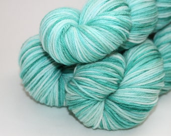 Sale | Hand Dyed / Painted Yarn | Superwash Merino / Nylon | Whitecap | Sport Weight | 274yds / 100g