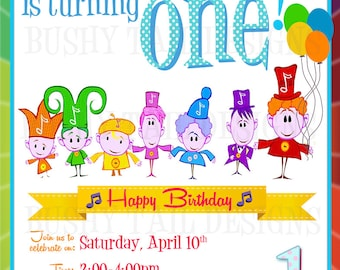 Notekins Birthday Invitation