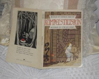 1973 Rumpelstiltskin Book Paper Back  :)
