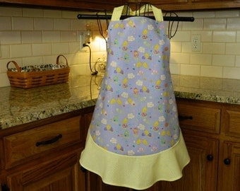 Easter Apron with Chicks - Cutie Pie!!