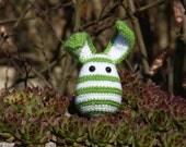 Crocheted rabbit - Ready to ship