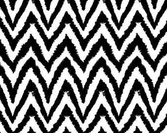 "Black PILLOW COVER -Black Zigzag Pillow- Black Chevron Diva Pillow Cover.Zigzag Pillow. 16"" or 17"" or 18"" or Lumbar"