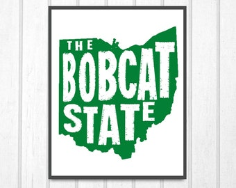 Ohio University Bobcats: The Bobcat State Print