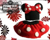 Crochet Minnie Mouse Set