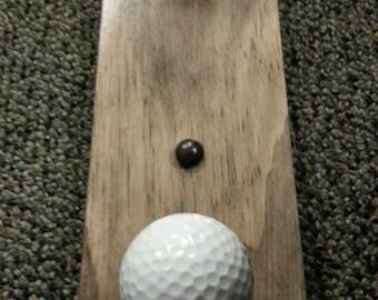 Golf Ball Coat Rack - 2 hooks