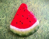 Painted rock, Watermelon slice