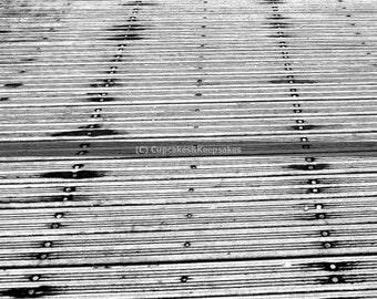 "Dublin ""Boardwalk"" Fine Art Photograph Black and White"
