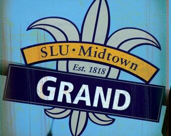 St. Louis Coaster Collection: SLU on Grand