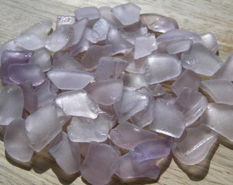 Light Lavender Purple Beach Sea Glass