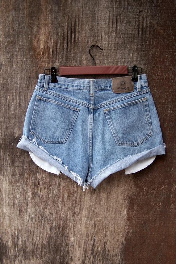Denim Shorts With Pockets Showing Hardon Clothes