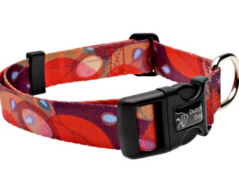 Ruby Harvest - Dog collar from recycled webbing