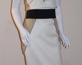 2 Piece Tri Color Tank Skirt Set