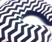 CUSTOM Chevron Minky Mombo Bright Starts Nursing Pillow Cover Designed By You For Baby Boy or Baby Girl