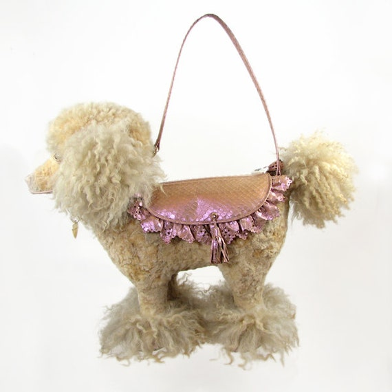 "Honey Poodle Handbag ""Hazel"" No 2 The Limited edition by Basia Zarzycka"