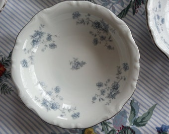 Lovely Set of 6 Johann Haviland blue Garland Fruit Bowls