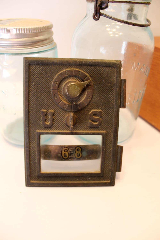 Antique Post Office Box Door Antique Salvage