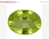 Chrysoberyl Yellow Facet Loose Gemstones 8.9 x 6.6 MM Oval Shape 2.26 Carat