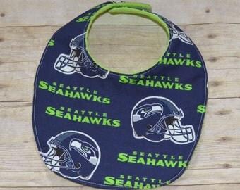 Seattle Seahawks Baby Bib