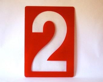 No. 2 Sign