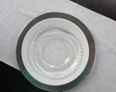 Silver Platinum Glitter Table Runner