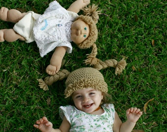Cabbage Patch Doll Inspired Hat