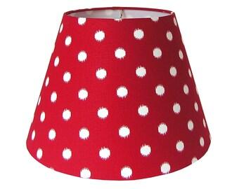 Polka Dot Shade Lamp Etsy
