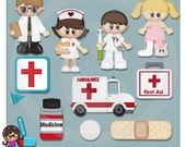 When I Grow Up Medical   Kids  Clip art  Clipart Graphics  Commercial Use
