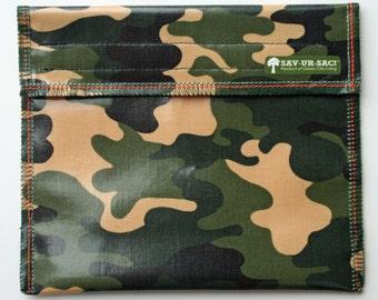 EcoBagIt! Reg - Keep Fresh Reusable Sandwich Bag: HUNTER Camo