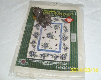 Vintage Plaid Company Floor/Wall Cover-Home Decor Project-Craft/Create-Canvas and Project Sheet