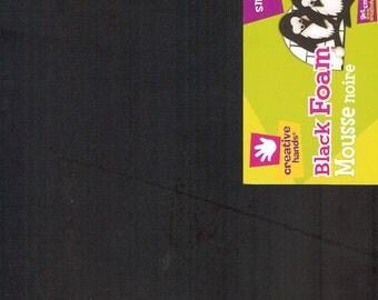 Smart Foam Black 12 x 18 Creative Hands by Fibre Craft Supplies