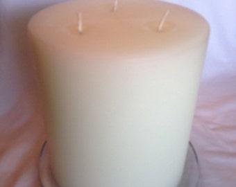 SALE! 3-wick scented pillar candle
