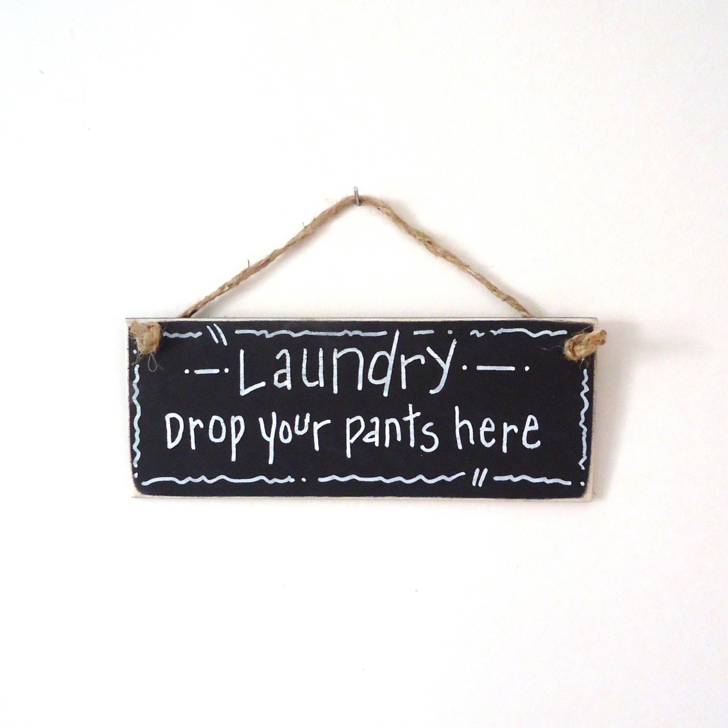 Laundry room decor small sign wood sign chalkboard sign for Room decor signs