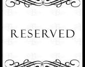Reserved for Dora
