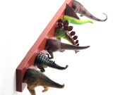 Dinosaur Tails Coat Rack (any color)