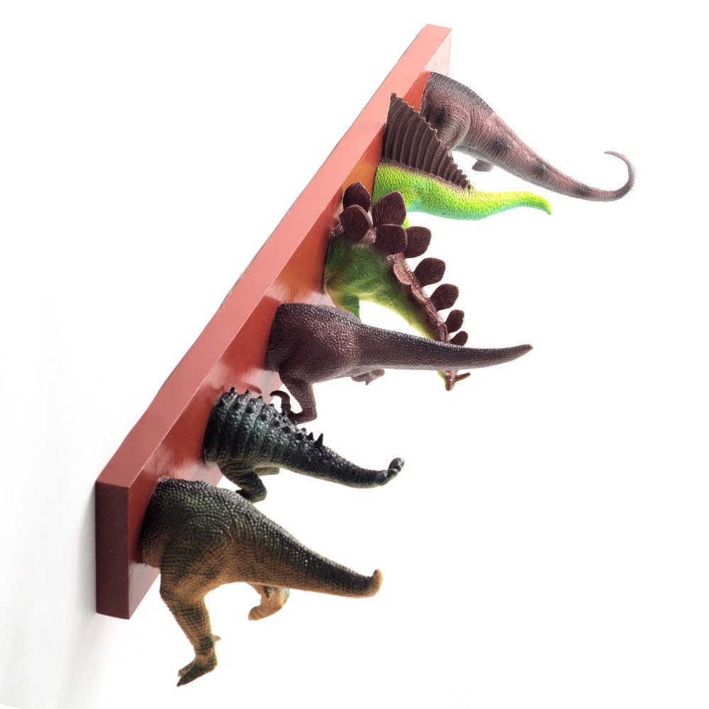 Dinosaur Tails Coat Rack Any Color