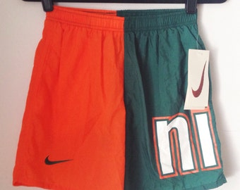 Deadstock Nike Colorblock Athletic Shorts Boys Size Large