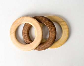 3 Teething Rings