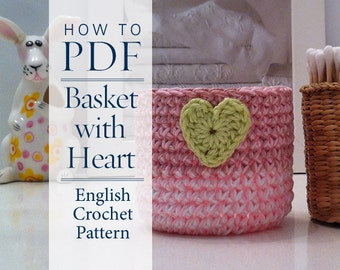 Crochet Patterns In English : Crochet Pattern PDF diy pattern English by CrochetObjet on ...