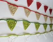 Two lines of bunting