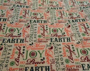 Christmas Fabric One Yard