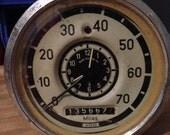 Vintage VW Volkswagen Bus Speedometer