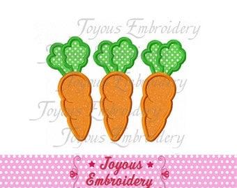 Instant Download Carrots Applique Machine Embroidery Design NO:1493