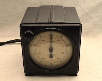 Vintage Device Electric Timer Art Deco Timer Steampunk 1930s