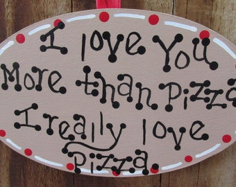 Funny Christmas Ornament about Pizza, funny Christmas ornament, pizza lovers gift