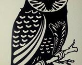 Owl Metal Wall Art