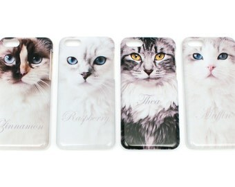 Ragdoll cat mobile case for iPhone 5c *MUFFIN*